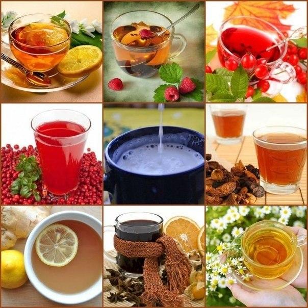 9 чудо-напитков от простуды....