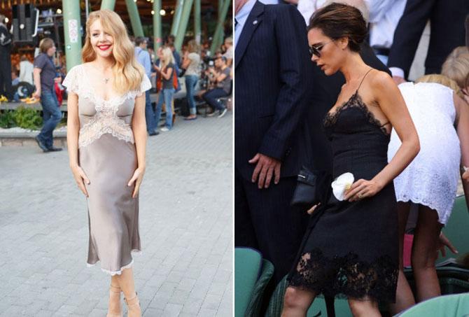 Из постели на красную дорожку: платья-комбинации – новый тренд сезона