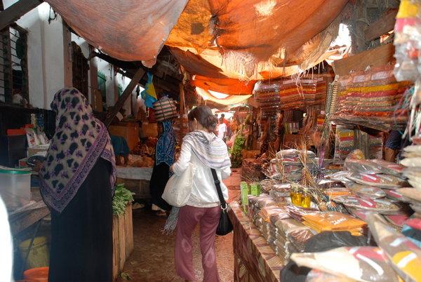 Рынок Стоун Тауна в Занзибаре, Танзания