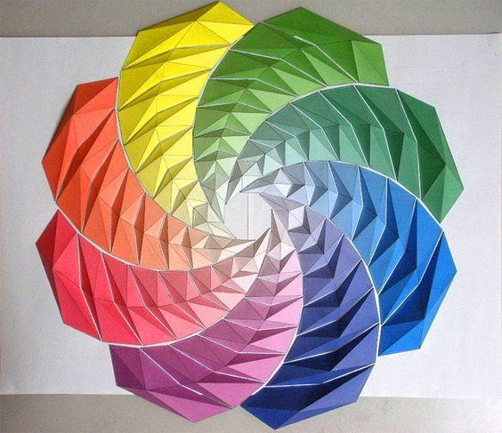Как играть цветовыми кругами…