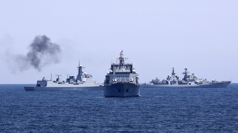 Балтийский флот отконвоирова…