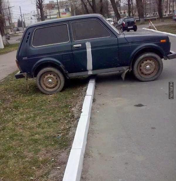 Как в Китае учат парковаться .