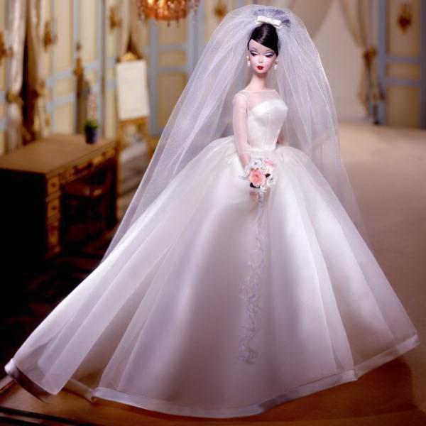 Свадебное платья для куклы барби сшить своими руками