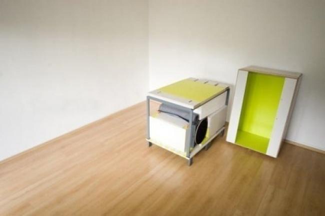 На первый взгляд это обычный ящик, но на самом деле... дизайн, интересное