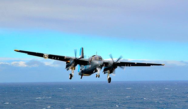 Противолодочный самолет S-2 Tracker ВМС Аргентины