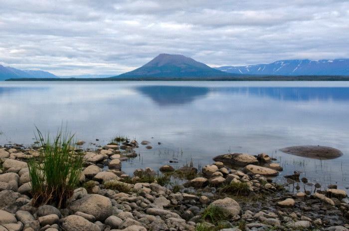 Озеро Таймыр - жемчужина крайнего севера России