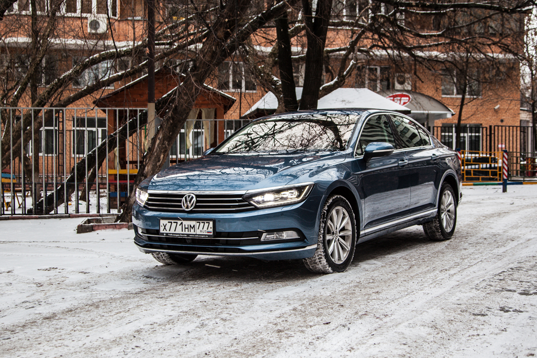 Тест-драйв: Volkswagen Passat