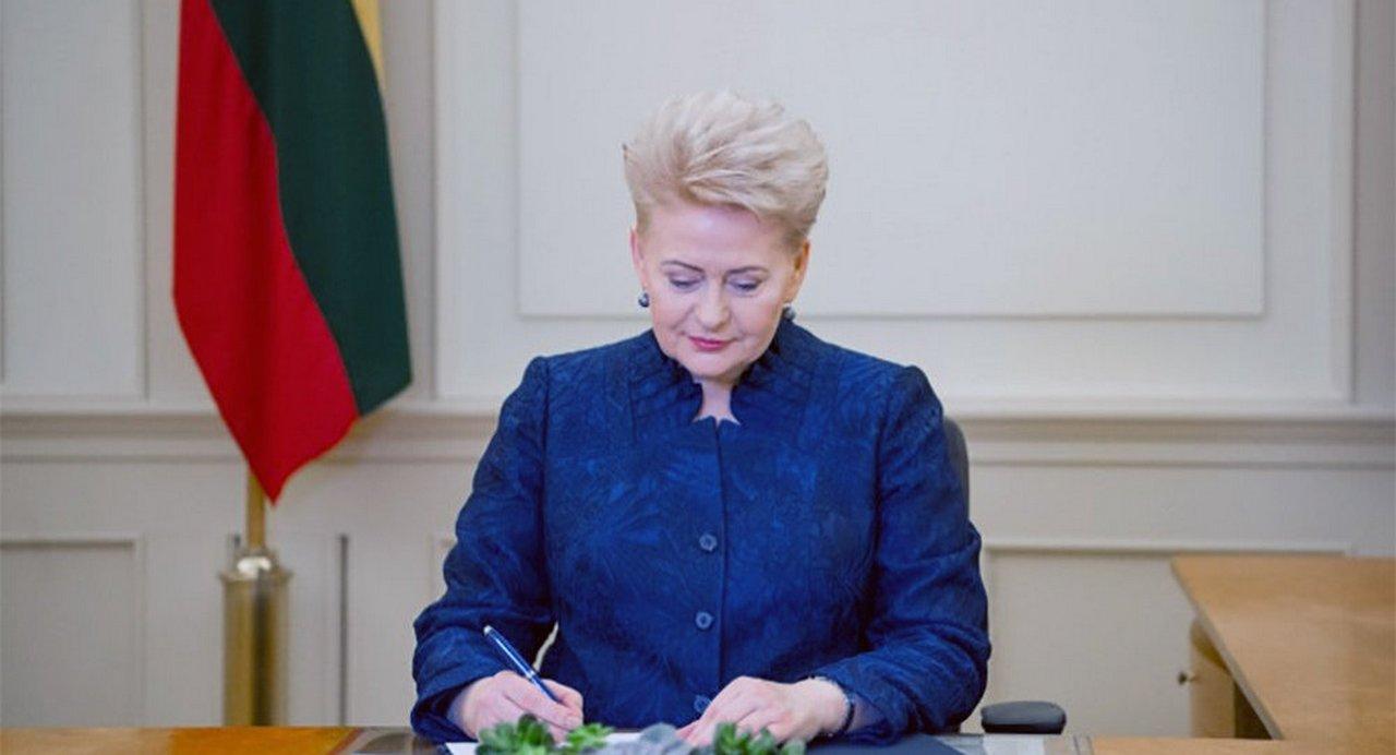 «План Грибаускайте» для украинской коррупции