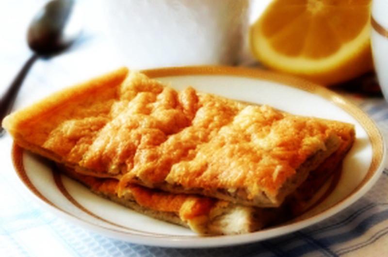 6. Яблочный омлет еда, завтрак, омлет