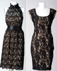 Какое платье сшить из черно 685