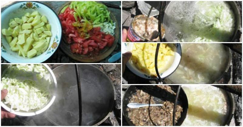 Блюда для похода рецепты