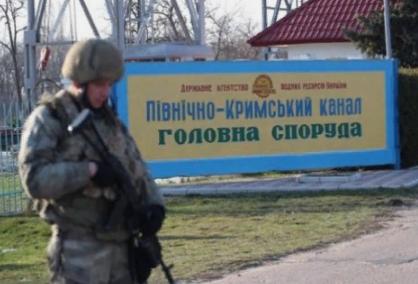 Украина заканчивает строить Северо-Крымский канал и обещает Крыму воду. Если он вернется...
