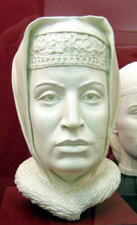Софья Палеолог, реконструкция по черепу.