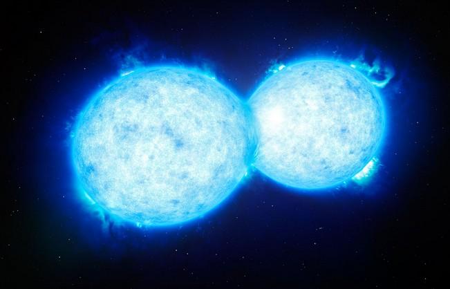Астрономы обнаружили необычную звёздную систему - VFTS 352