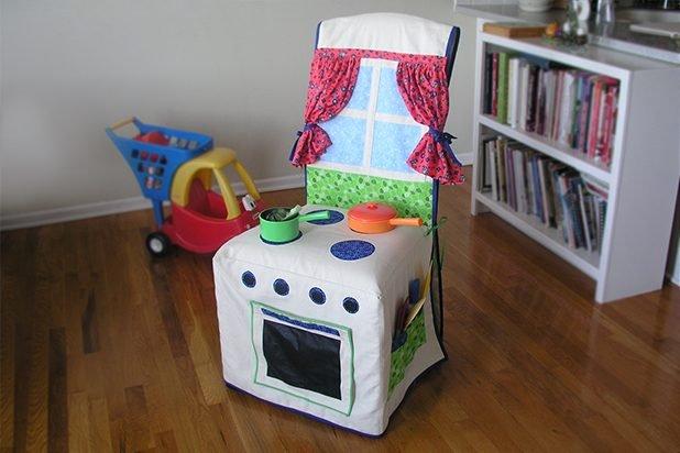 Детский чехол-кухня для стула