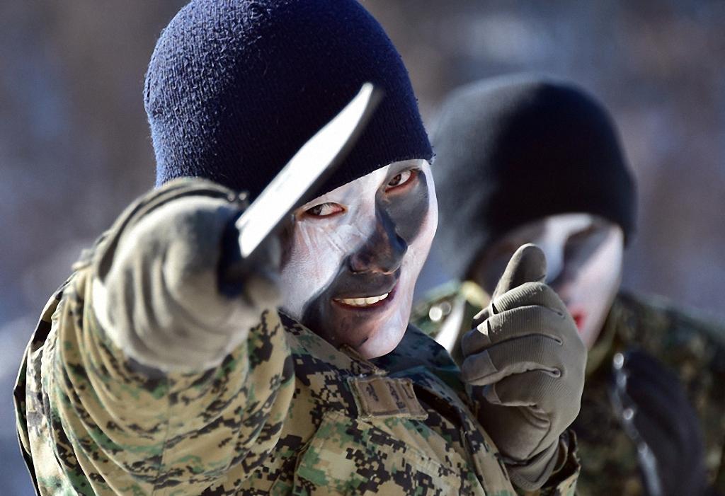 Зимние учения южнокорейского спецназа-11