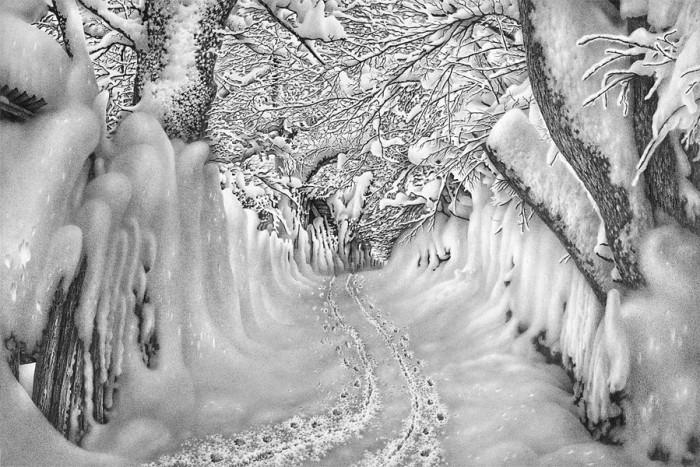 рисунки карандашом Гурам Доленджашвили - 07