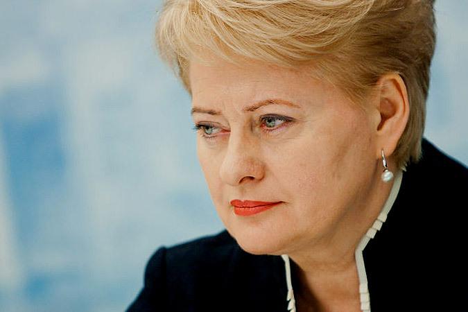 Невыполнение Россией минских договоренностей тянет за собой санкции ЕС – Даля Грибаускайте