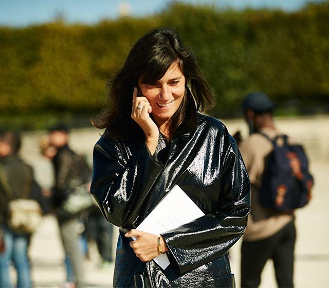 Неделя моды в Париже, весна-лето 2016: street style. Часть 1 (фото 5)