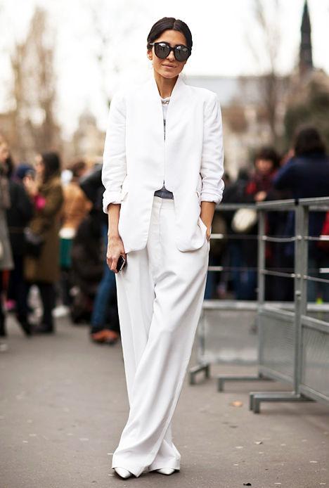 Белый цвет. Учимся носить, как это делают аристократки
