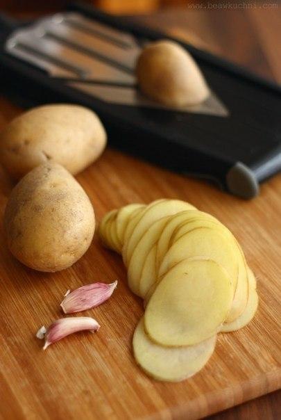 """Запеченный картофель """"Лепестки"""""""