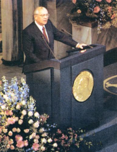 плачь, душа, лауреат нобелевской премии горбачев это