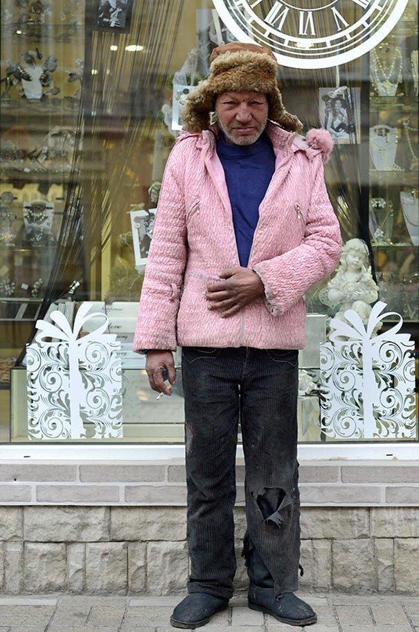 55 летний львовский бомж самый модный бездомный в мире (13)