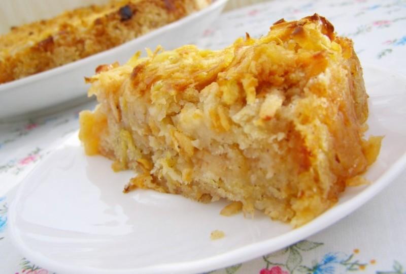 Диетический пирог без пшеничной муки с яблоками-ешь, хоть каждый день