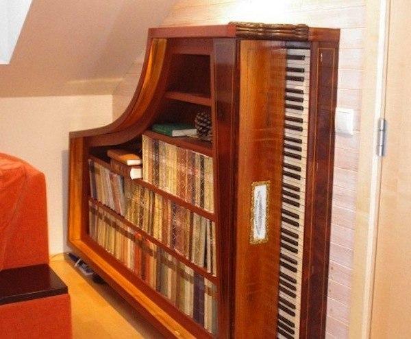 Не спешите выбрасывать своё старое пианино