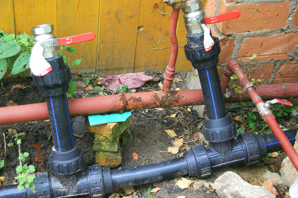 Дачный водопровод своими руками фото