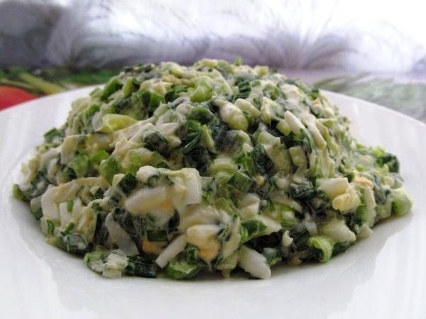 Рецепты салатов с фото с яйцом и