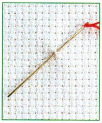 Вышивание по ткани Аида четным количеством нитей (фото 1)