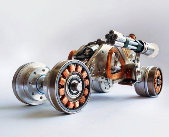 Бесколлекторный двигатель своими руками для моделей