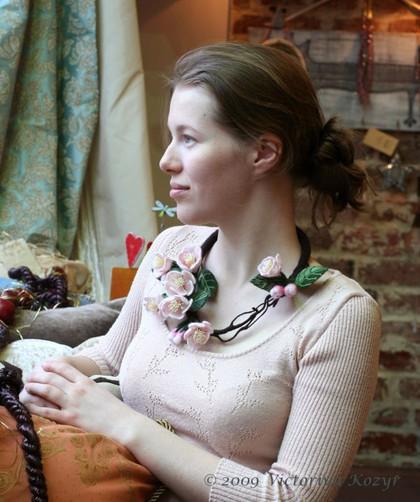 """Колье, бусы ручной работы. Ярмарка Мастеров - ручная работа Колье """"Весна Священная"""". Handmade."""