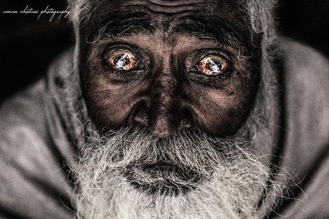 """""""Говорящие"""" портреты. Фотограф Aman Chotani"""
