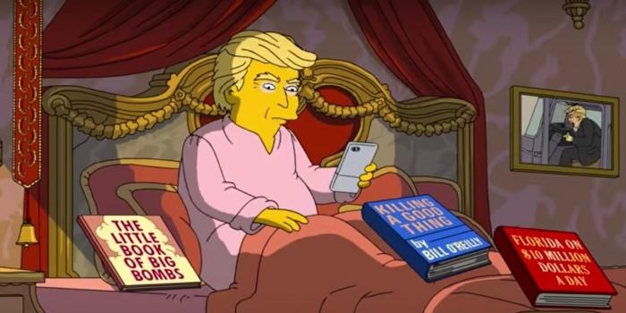 """""""Симпсоны"""" проанализировали 100 дней президентства Трампа"""