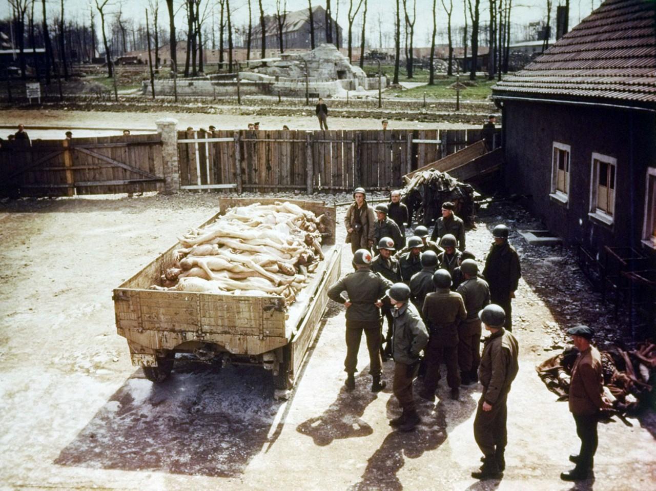 Что происходило при освобождении концлагерей. Австрия 1945 г.