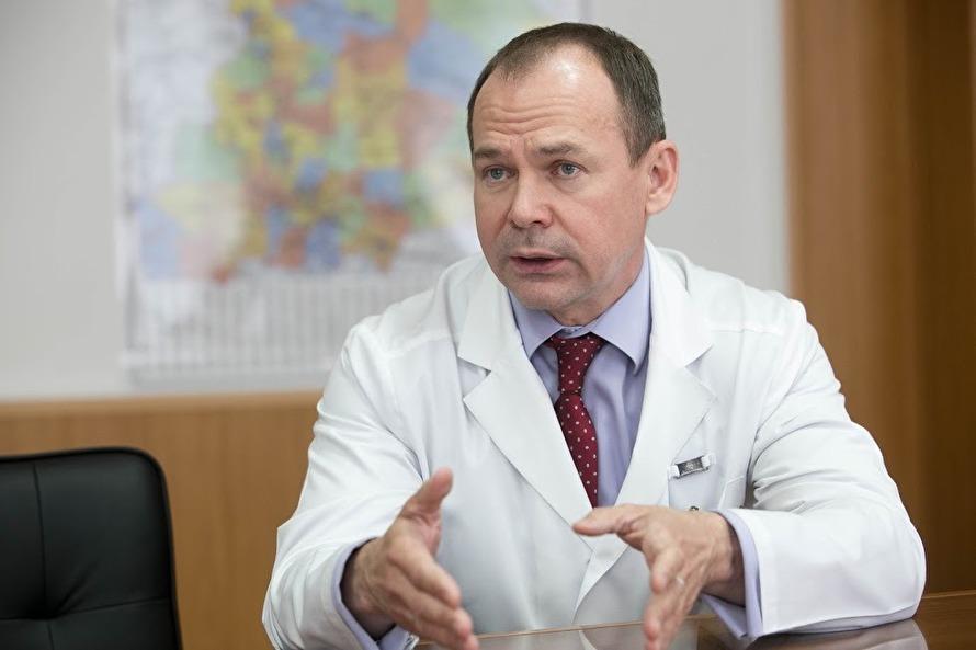 Главный врач онкодиспансера Владимир Елишев