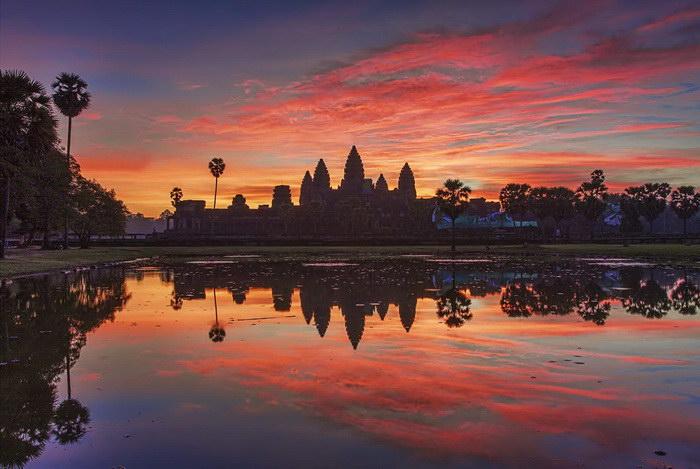 Храмовый комплекс Ангкор-Ват - вечная битва природы с человеком