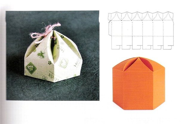 Сделать подарочную коробку своими руками шаблон