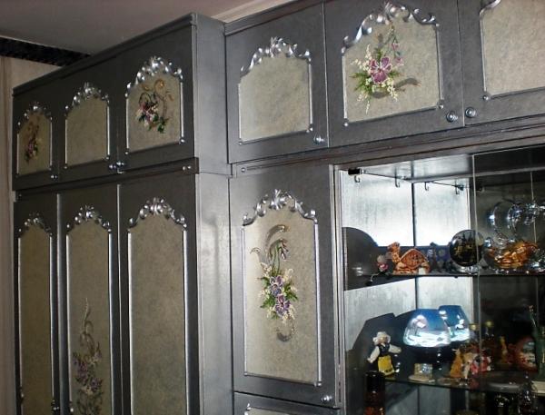 Декор шкафа своими руками мастер-класс
