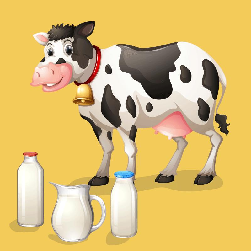 Анекдот про Рабиновича, ставшего хозяином упрямой коровы