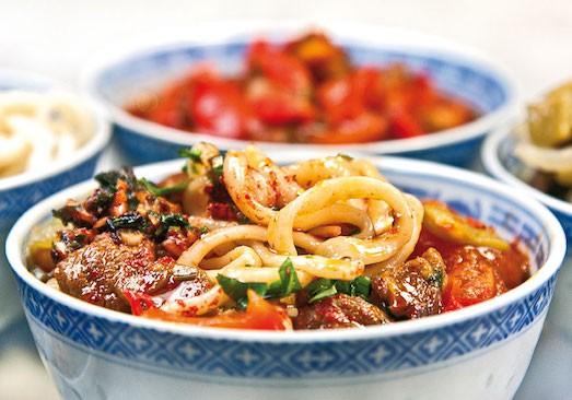 лагман по уйгурски рецепт с фото