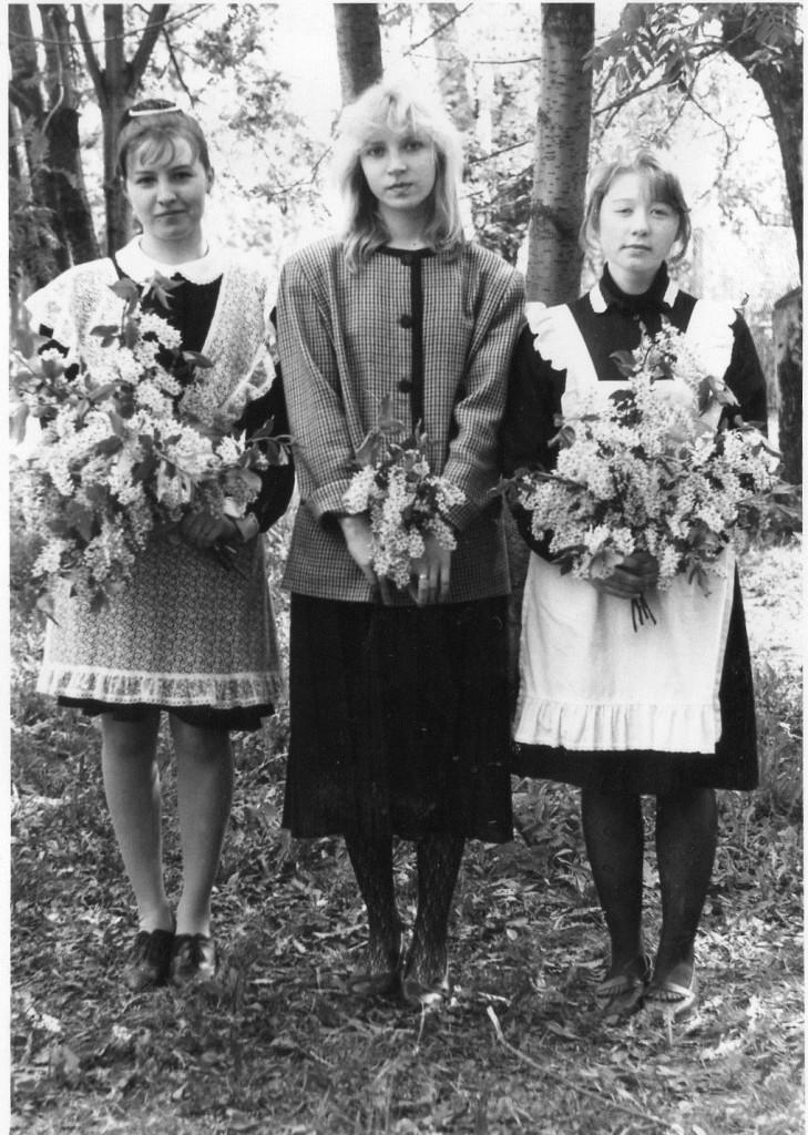 Выпускницы 1994 года. Май.