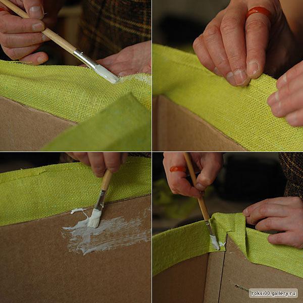 Коробка для шкафа своими руками