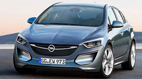 Opel Astra получит новую внешность