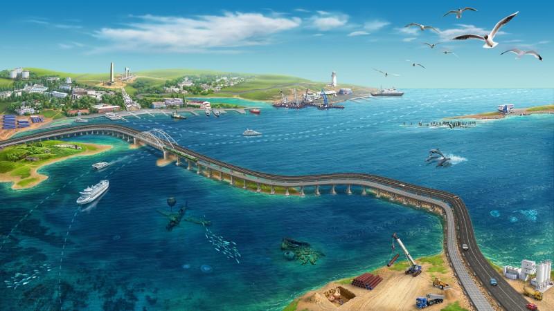 По Крымскому мосту проедут фуры