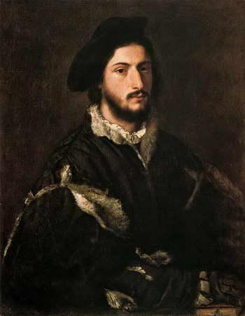 Тициан. Портрет Томазо или Винченцо Мости