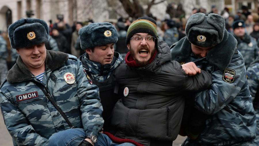 Россия - страна небитых оппозиционеров