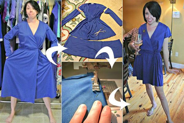 Переделанная одежда из секонд хенда